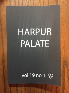 Cover of Harpur Palate Issue 19.1